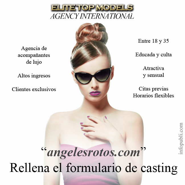 Escorts de lujo en Málaga, angeles rotos