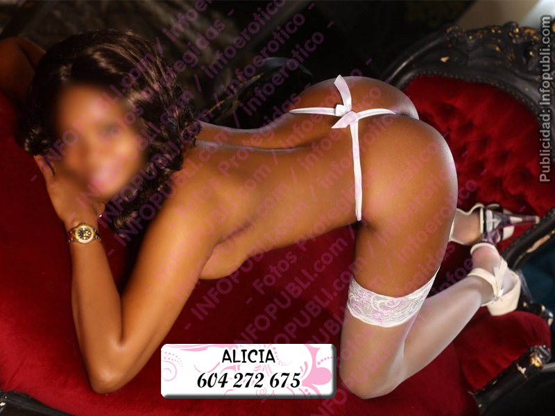 Escort nueva en Madrid, Alicia, Escort mulata madrid